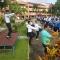 กิจกรรมออกกำลังกาย(ทุกวันพุธ ช่วงเช้า) ตามนโยบายรัฐมนตรี ณ บริเวณหน้าเสาธง วิทยาลัยการอาชีพเบตง ในวันที่ 23 พฤษภาคม 2561